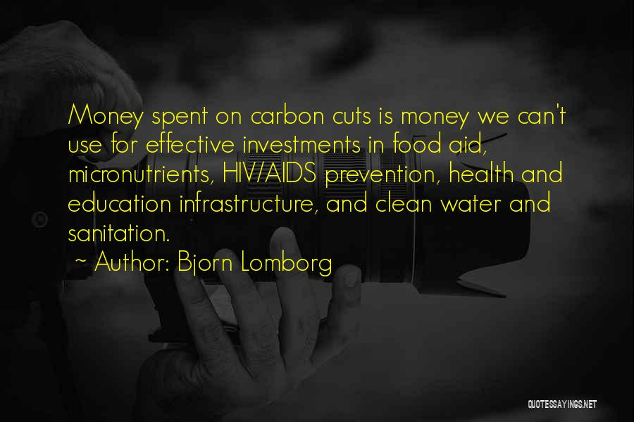 Water And Health Quotes By Bjorn Lomborg