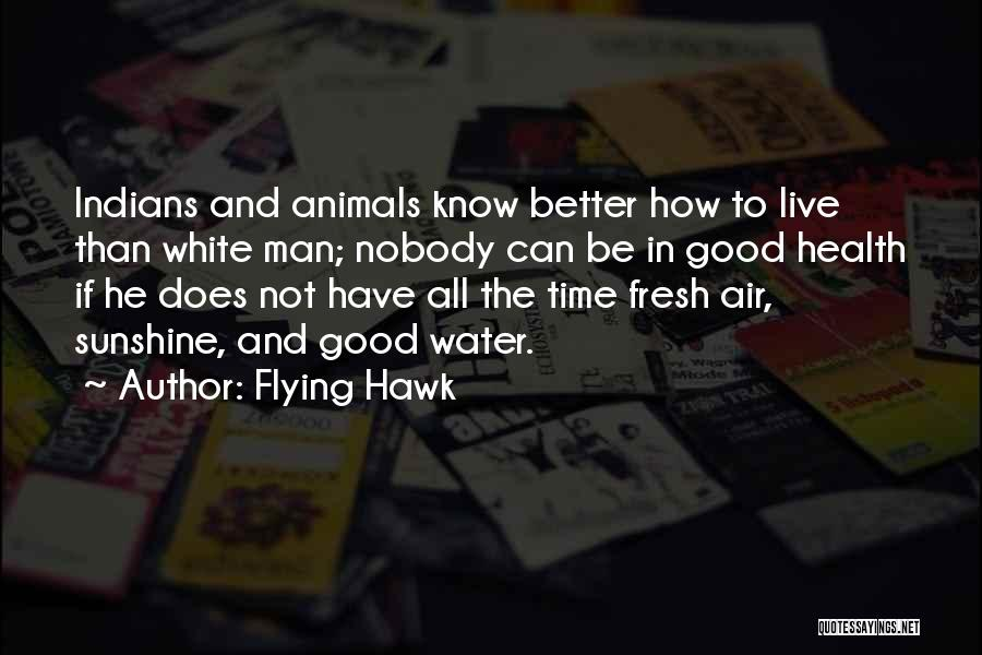 Water And Health Quotes By Flying Hawk