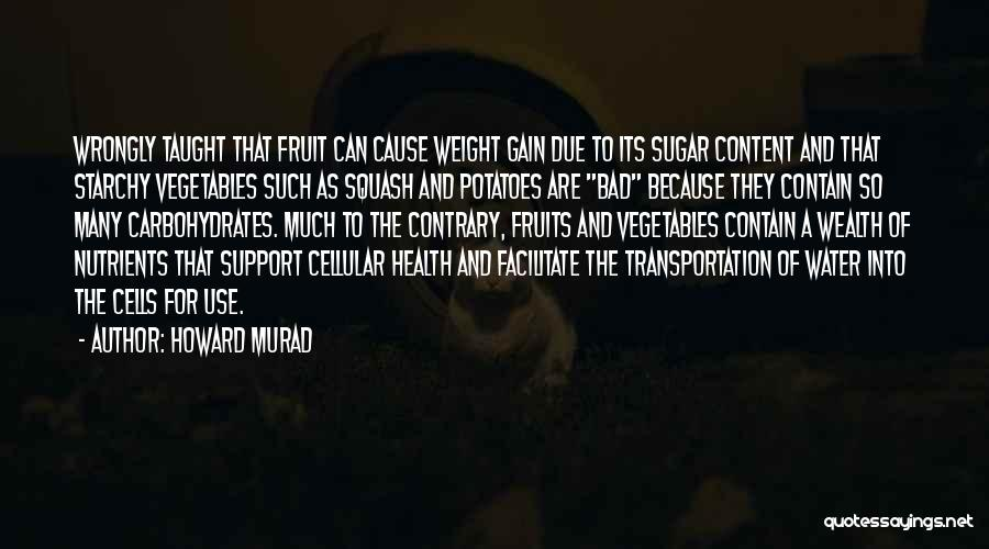 Water And Health Quotes By Howard Murad