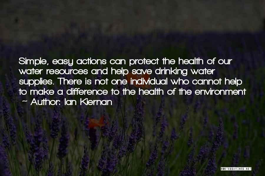 Water And Health Quotes By Ian Kiernan