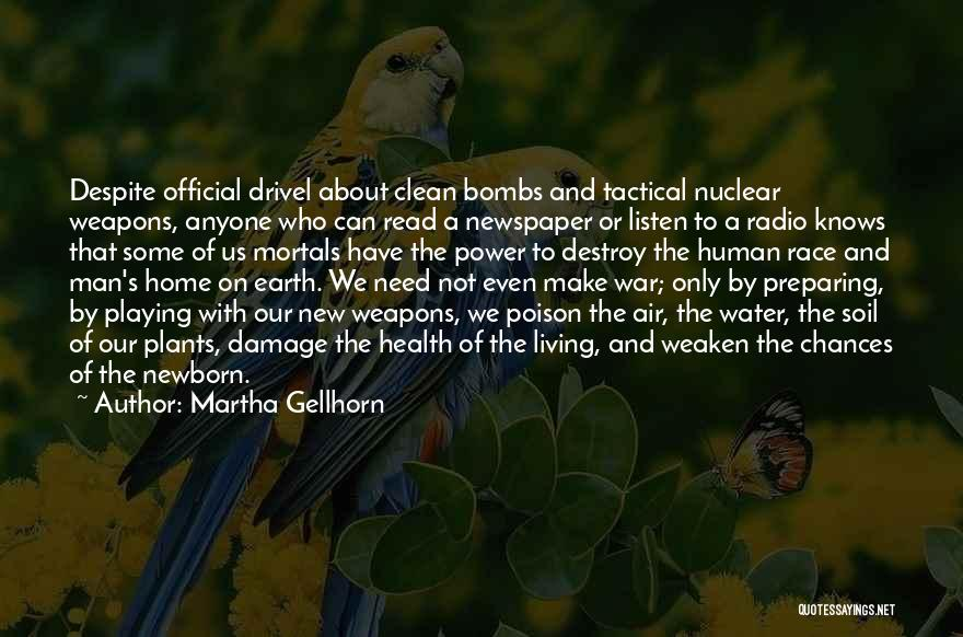 Water And Health Quotes By Martha Gellhorn