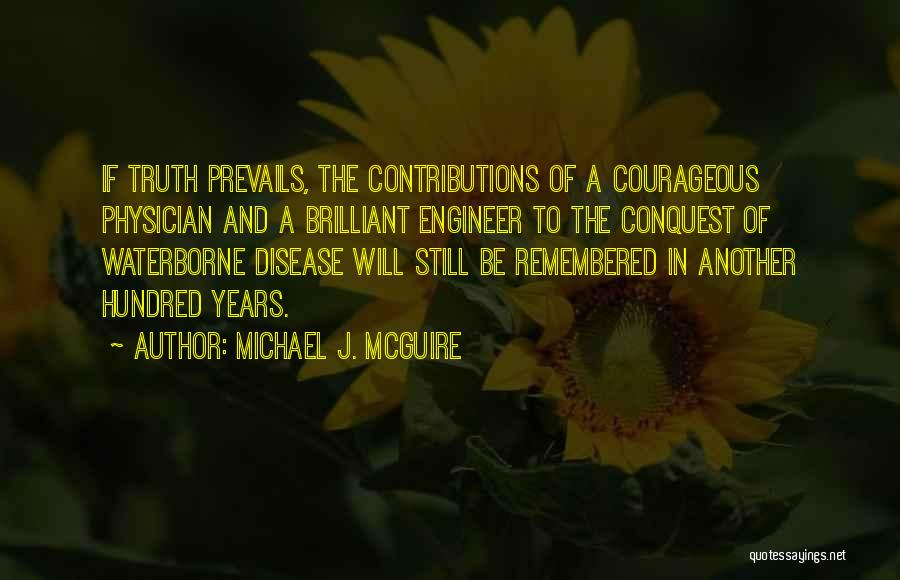 Water And Health Quotes By Michael J. McGuire