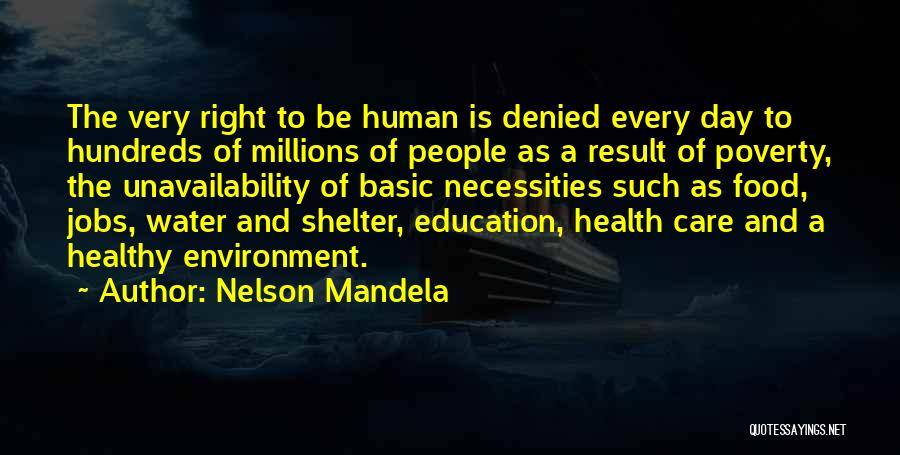 Water And Health Quotes By Nelson Mandela