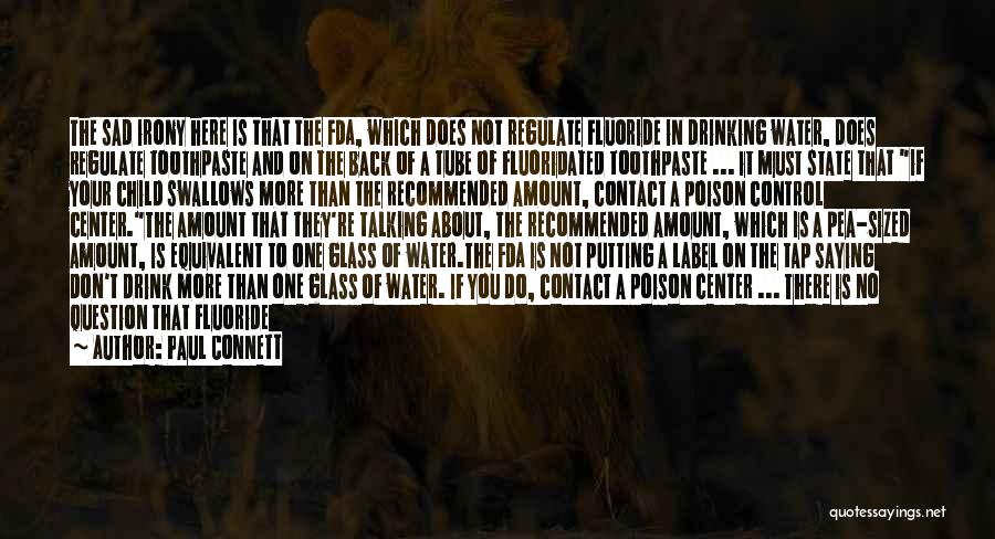 Water And Health Quotes By Paul Connett