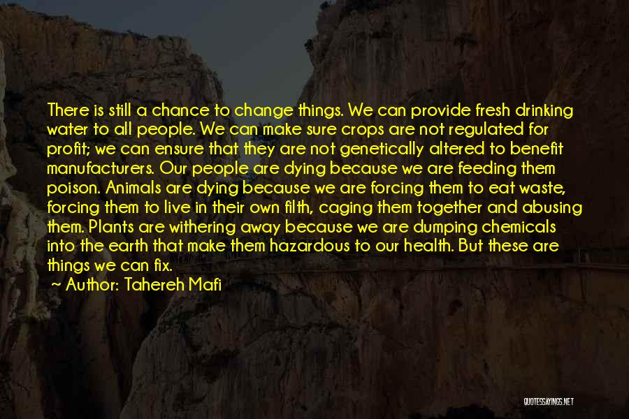 Water And Health Quotes By Tahereh Mafi