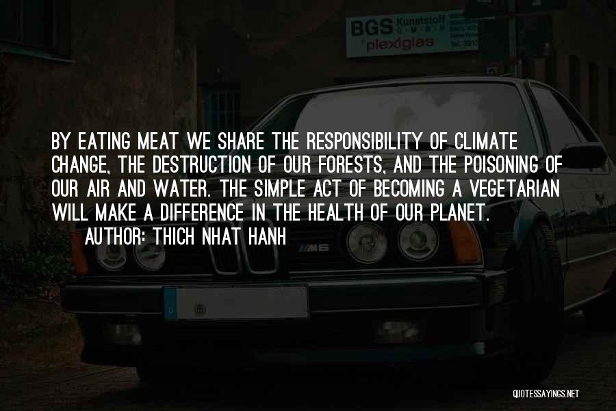 Water And Health Quotes By Thich Nhat Hanh