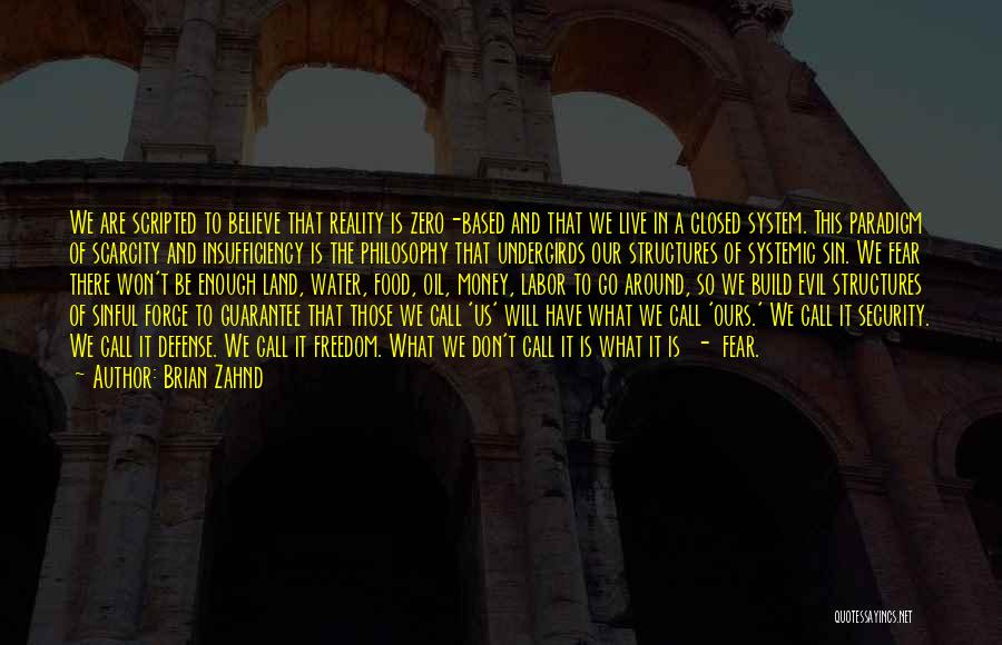 Water And Land Quotes By Brian Zahnd