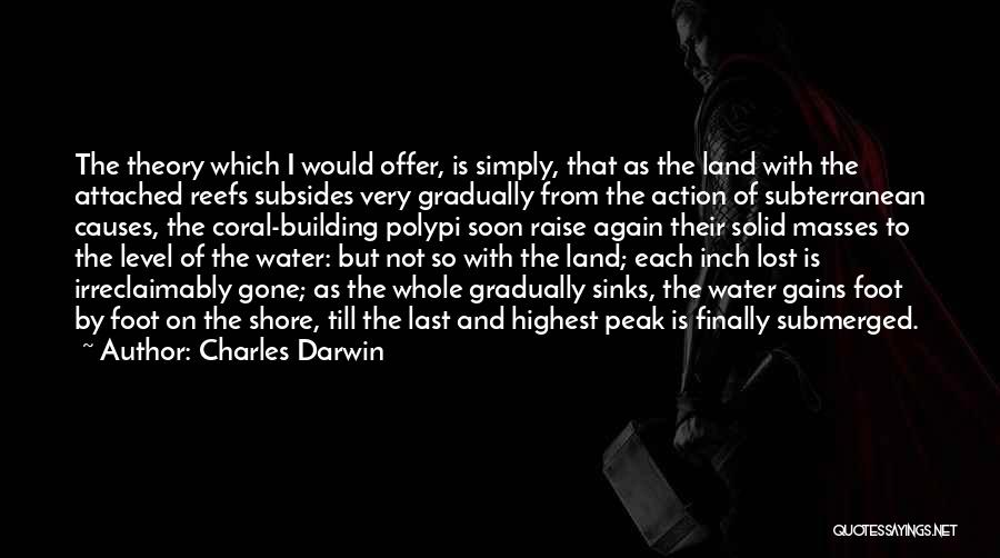 Water And Land Quotes By Charles Darwin