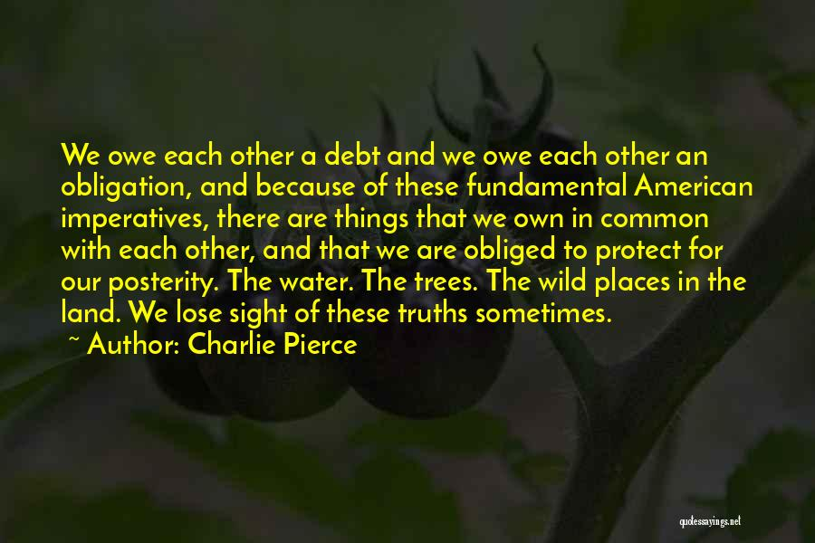 Water And Land Quotes By Charlie Pierce