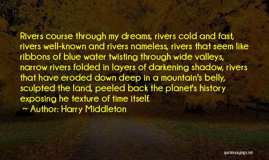Water And Land Quotes By Harry Middleton