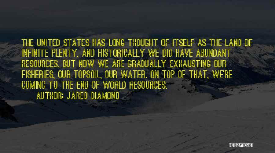 Water And Land Quotes By Jared Diamond