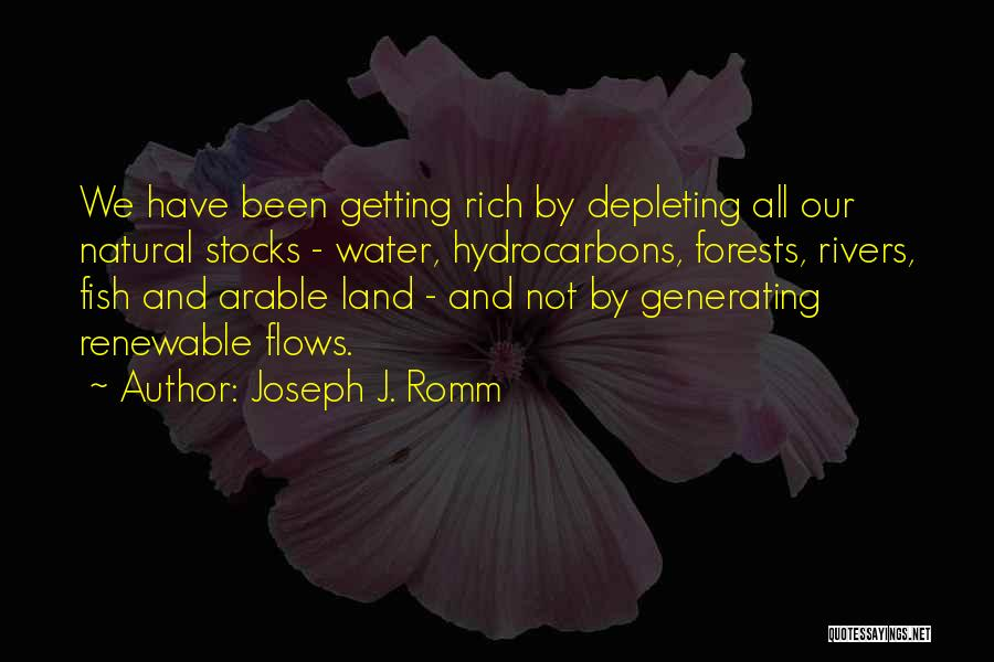 Water And Land Quotes By Joseph J. Romm