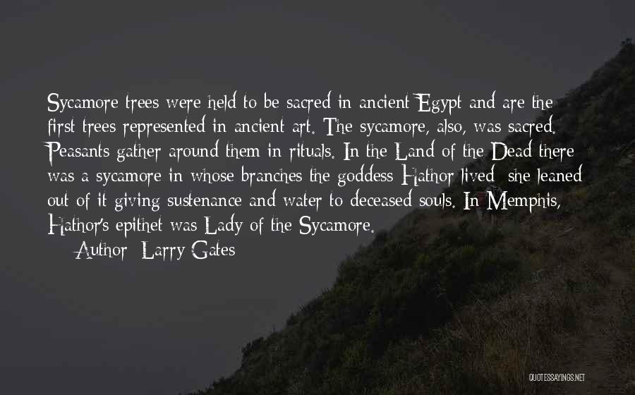 Water And Land Quotes By Larry Gates