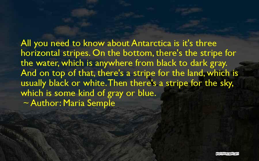 Water And Land Quotes By Maria Semple