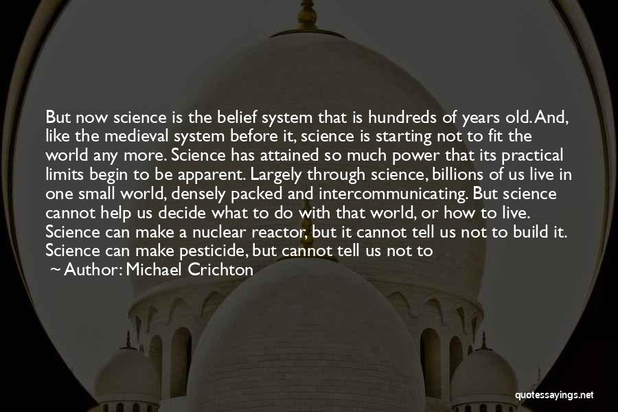 Water And Land Quotes By Michael Crichton