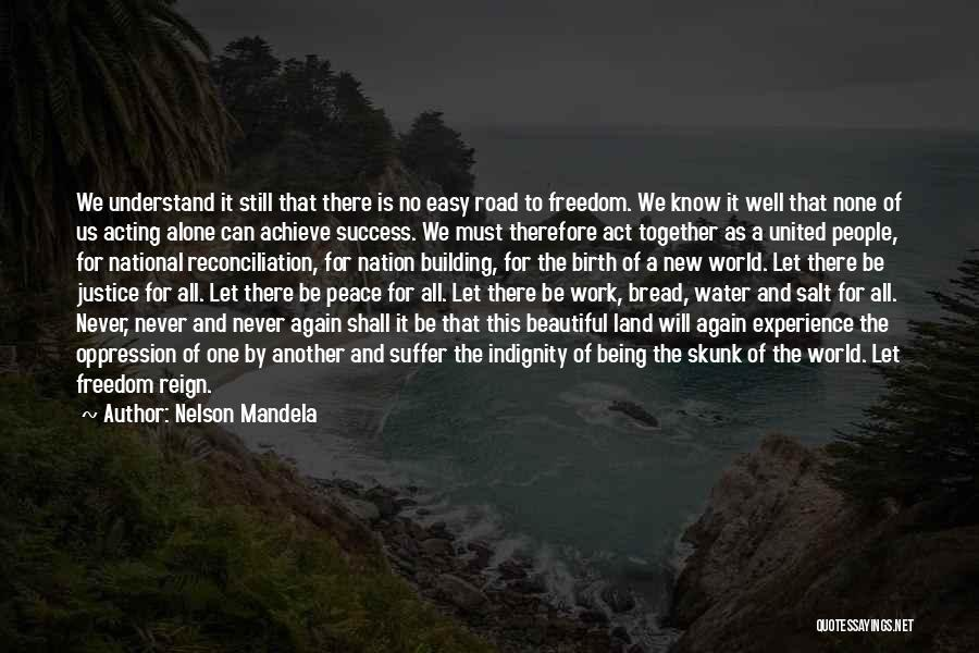 Water And Land Quotes By Nelson Mandela