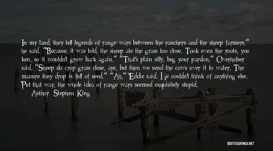 Water And Land Quotes By Stephen King