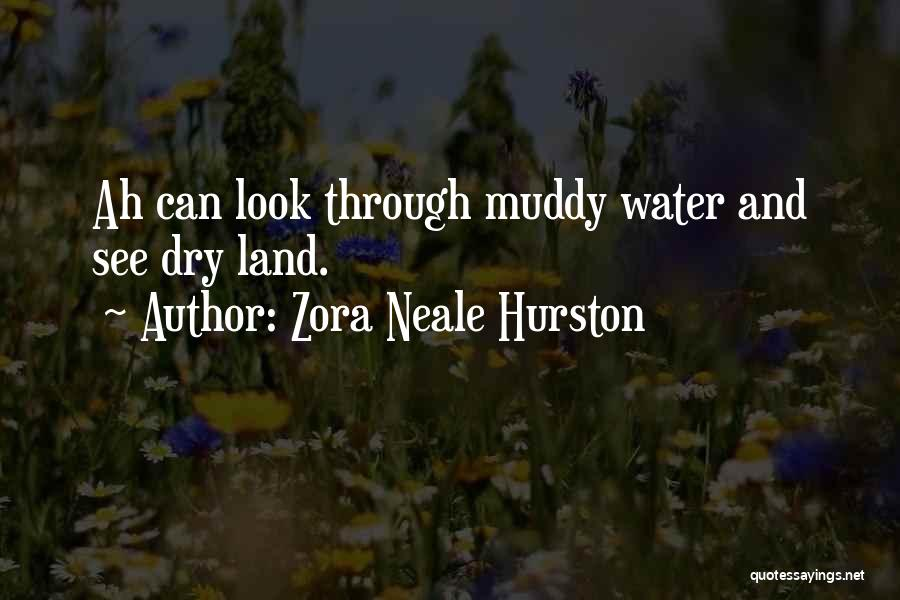 Water And Land Quotes By Zora Neale Hurston