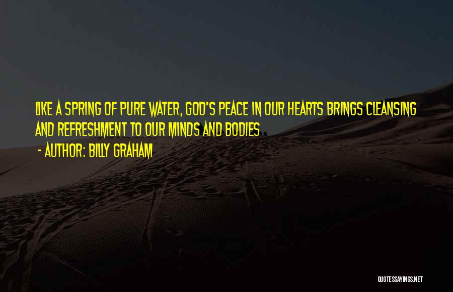 Water Bodies Quotes By Billy Graham