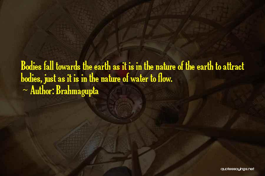 Water Bodies Quotes By Brahmagupta