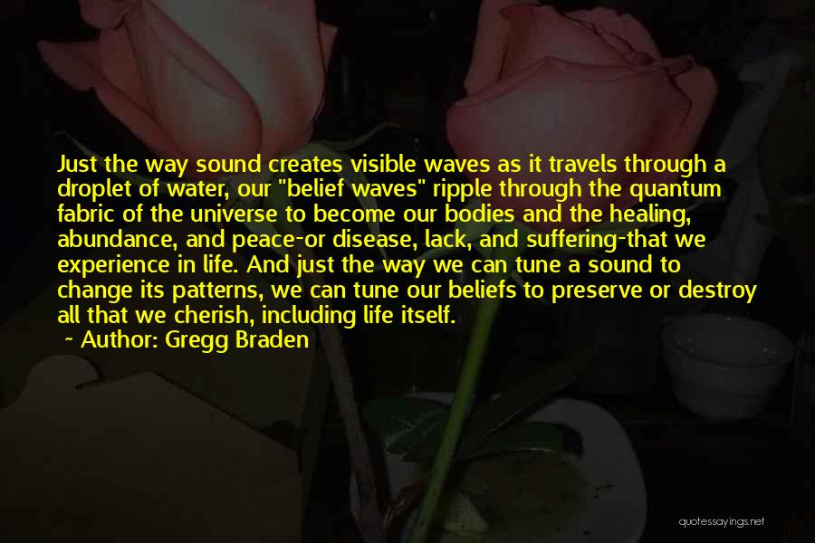 Water Bodies Quotes By Gregg Braden