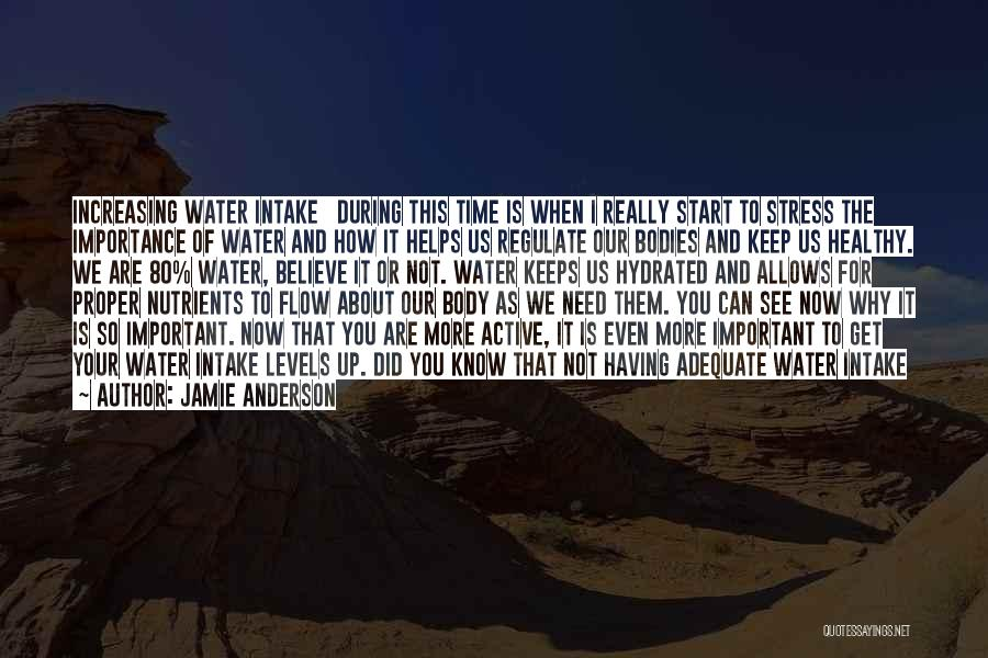 Water Bodies Quotes By Jamie Anderson