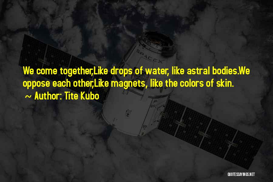 Water Bodies Quotes By Tite Kubo