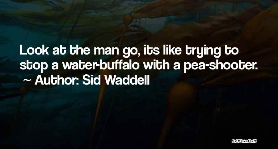 Water Buffalo Quotes By Sid Waddell