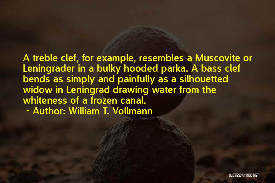 Water Canal Quotes By William T. Vollmann