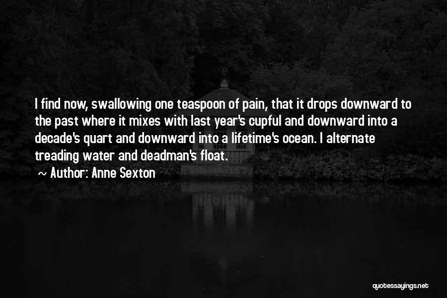Water Drops Quotes By Anne Sexton