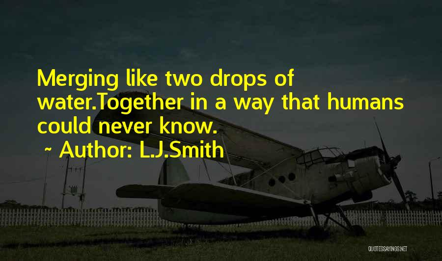 Water Drops Quotes By L.J.Smith