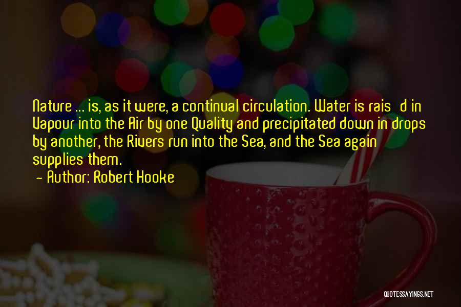 Water Drops Quotes By Robert Hooke