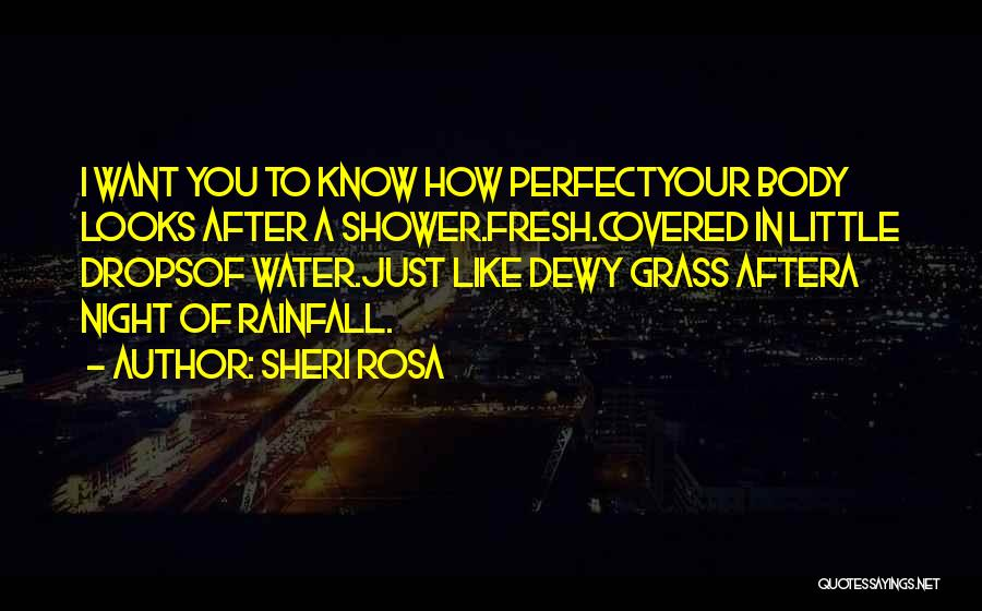 Water Drops Quotes By Sheri Rosa