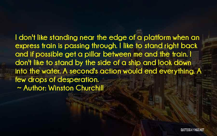 Water Drops Quotes By Winston Churchill