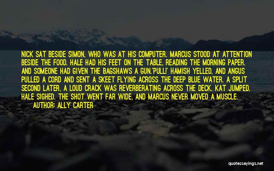 Water Gun Quotes By Ally Carter