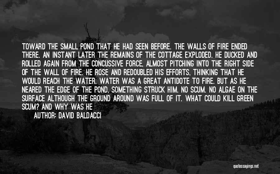 Water Gun Quotes By David Baldacci