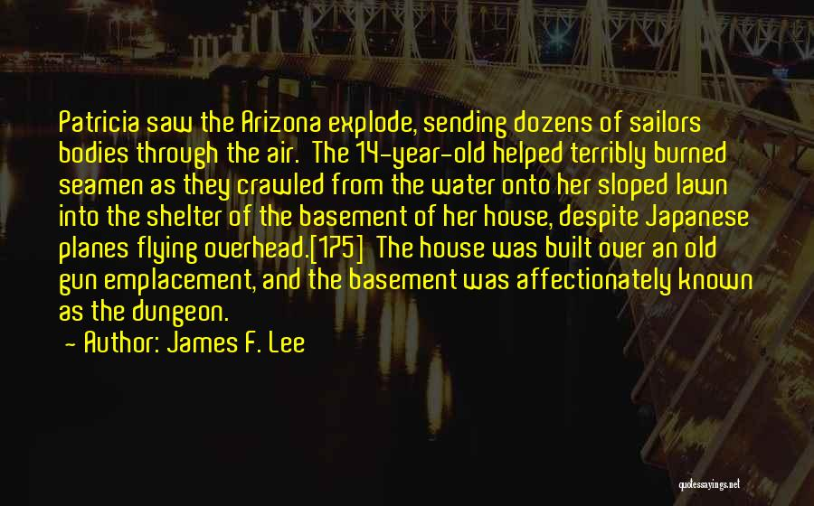 Water Gun Quotes By James F. Lee