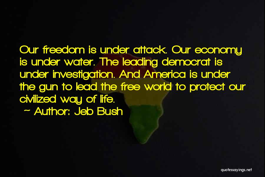 Water Gun Quotes By Jeb Bush