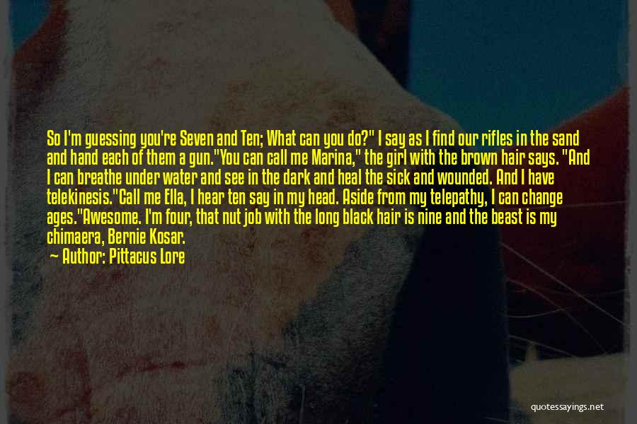 Water Gun Quotes By Pittacus Lore