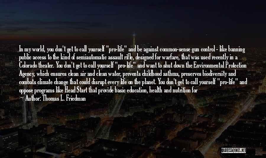Water Gun Quotes By Thomas L. Friedman