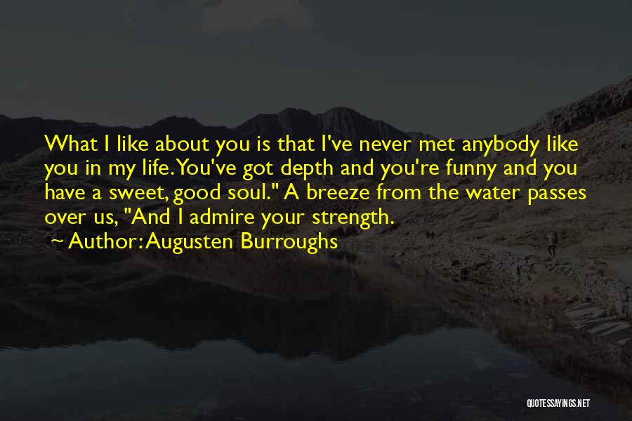 Water Is My Life Quotes By Augusten Burroughs