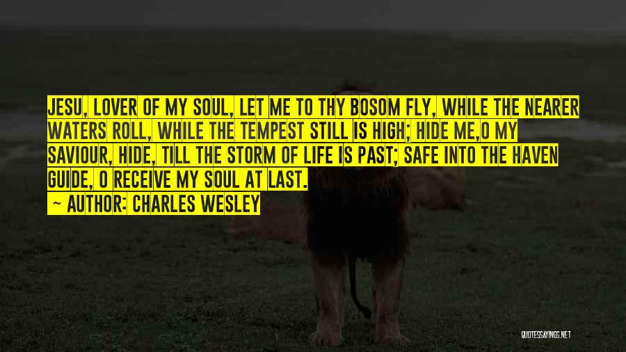 Water Is My Life Quotes By Charles Wesley
