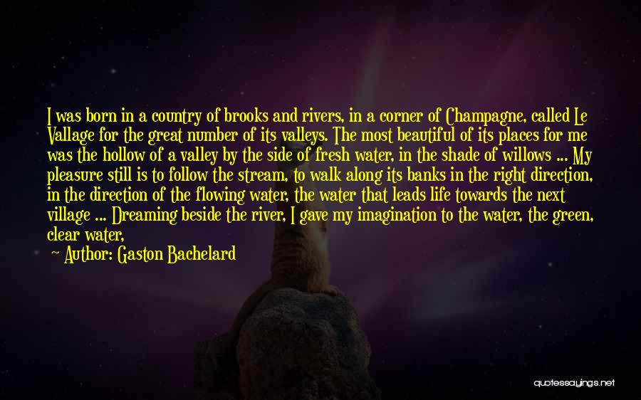 Water Is My Life Quotes By Gaston Bachelard