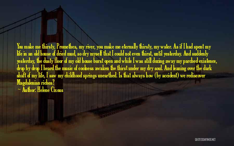 Water Is My Life Quotes By Helene Cixous