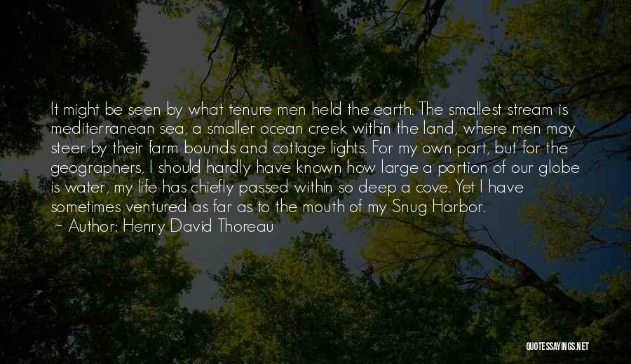 Water Is My Life Quotes By Henry David Thoreau
