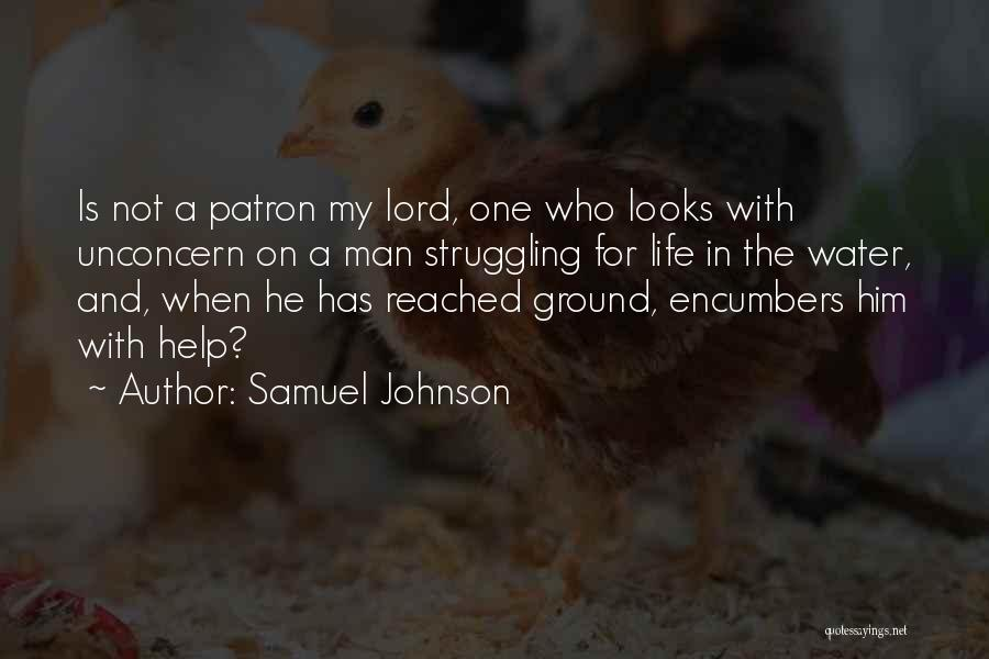 Water Is My Life Quotes By Samuel Johnson