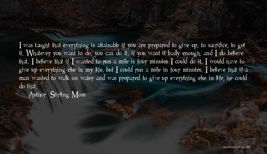 Water Is My Life Quotes By Stirling Moss