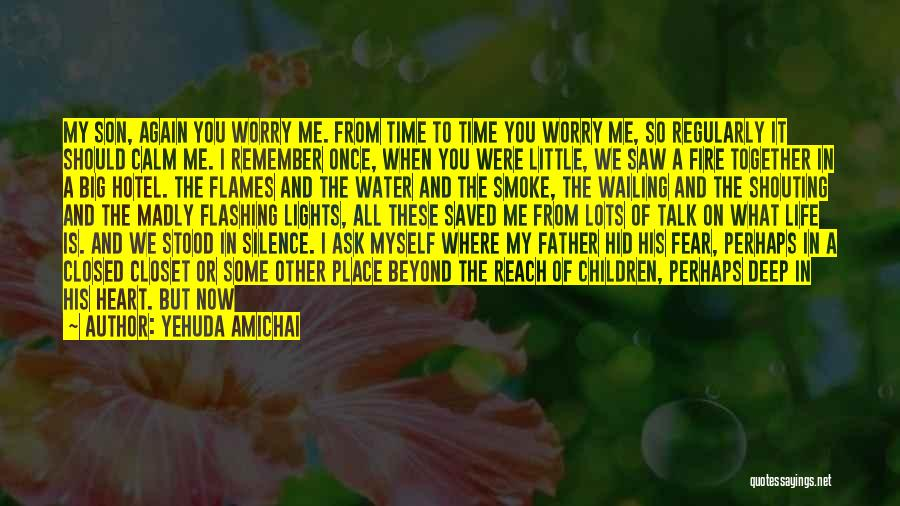 Water Is My Life Quotes By Yehuda Amichai