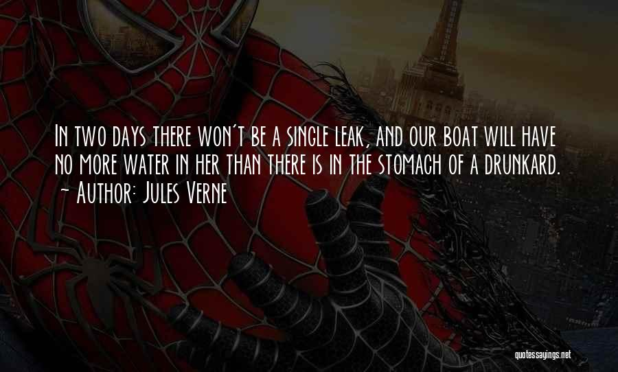 Water Leak Quotes By Jules Verne