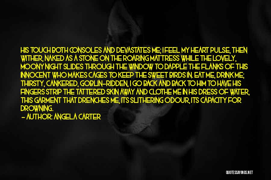 Water Stone Quotes By Angela Carter